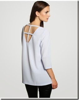 blusa elogy cuello redondo manga francesa 20,95€