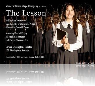 Ionesco-Lesson