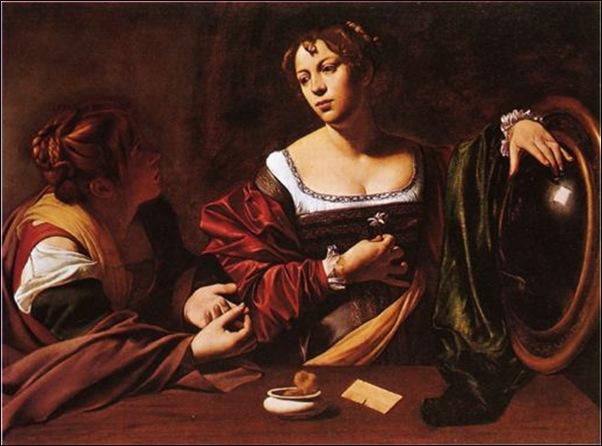 Le Caravage, La conversion de Marie -Madeleine