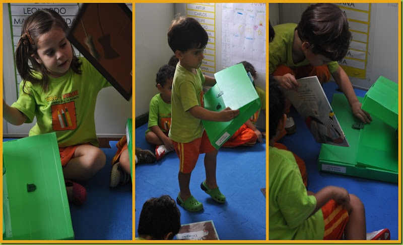 Infantil 3 Tarde - Escolha de livro8