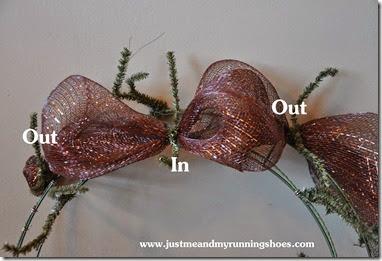 Deco Mesh Wreath 8