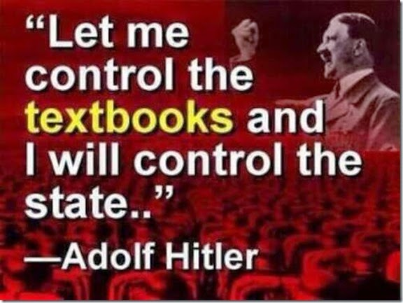 Controlling the Textbooks
