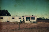 """Mississippi River Mobile Home/Oquawka, Illinois"" - copyright Jane Carlson"