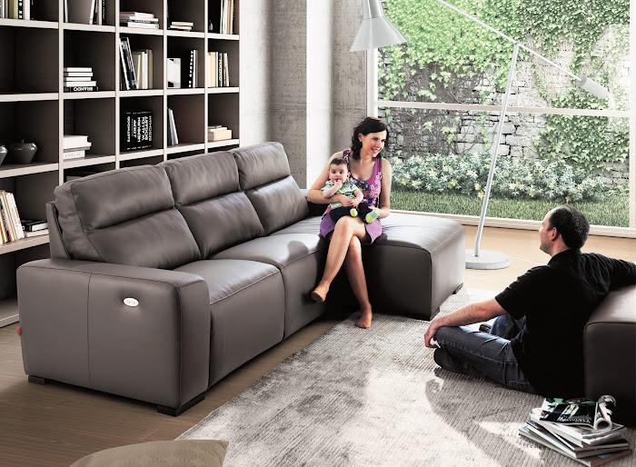 El sofá de piel es compatible con niños? - Sin Moverte de Casa-El ...