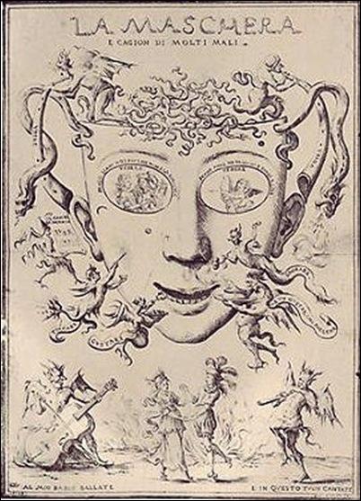 Giuseppe Maria Mitelli, Le masque 1688