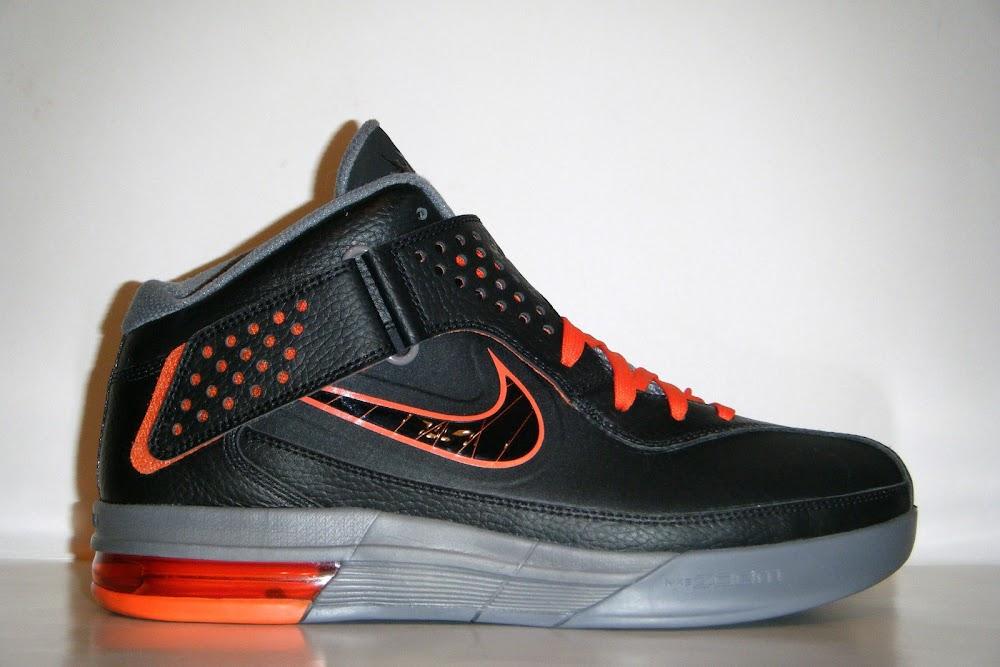 Nike Soldier V 8211 Black Grey Orange 8211 Unreleased Sample ...