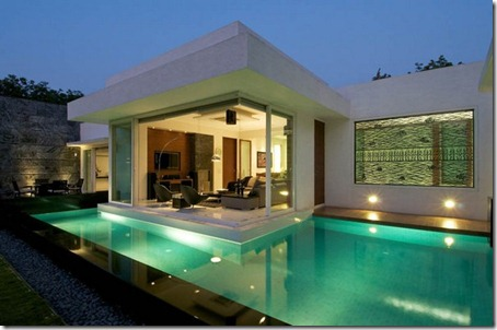 Exterior Dinesh Bungalow by atelier dnD1