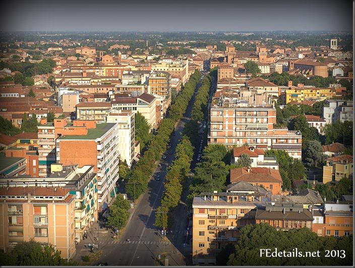 Ferrara dal Grattacielo - Ferrara from Skyscraper, Ferrara, Italy, Photo1