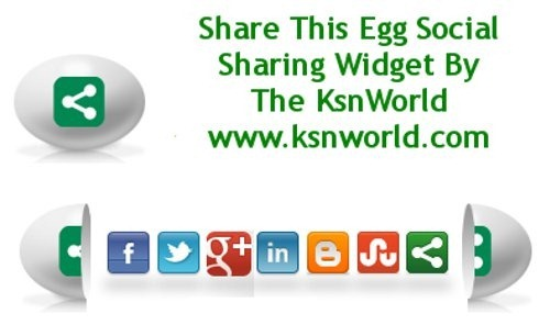 Widgets For Blogger - Slide open egg share this widget for blogger
