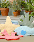 You can make a starfish wash mitt with a child -- a great opportunity to tell the whole Starfish Story! (See link to craft below)