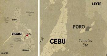 Poro Location Map