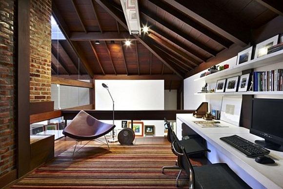 Moderno contemporáneo diseño de espacio