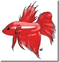 peces clipart blogolorear (9)