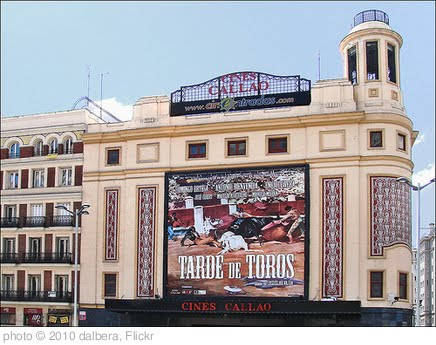 'Cine Callao (Gran Via, Madrid)' photo (c) 2010, dalbera - license: http://creativecommons.org/licenses/by/2.0/