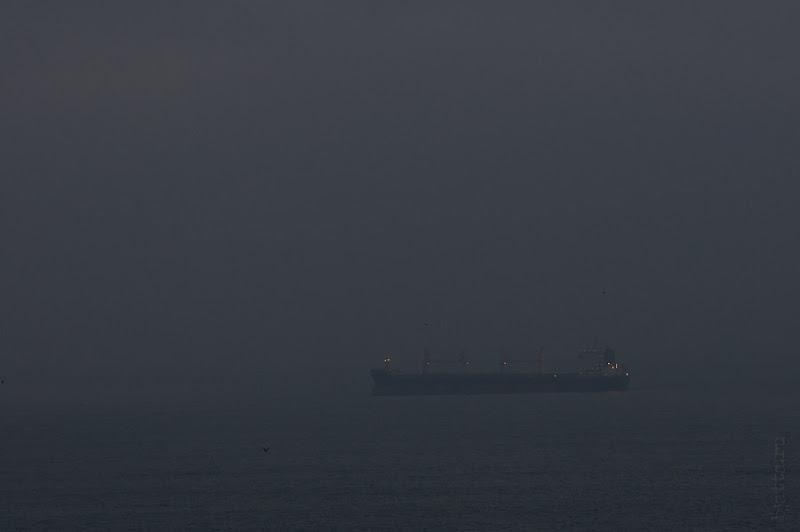 Третий день. Casablanca. Morocco. Круиз. Costa Concordia. Туман был и рассмотреть что-то было затруднительно.