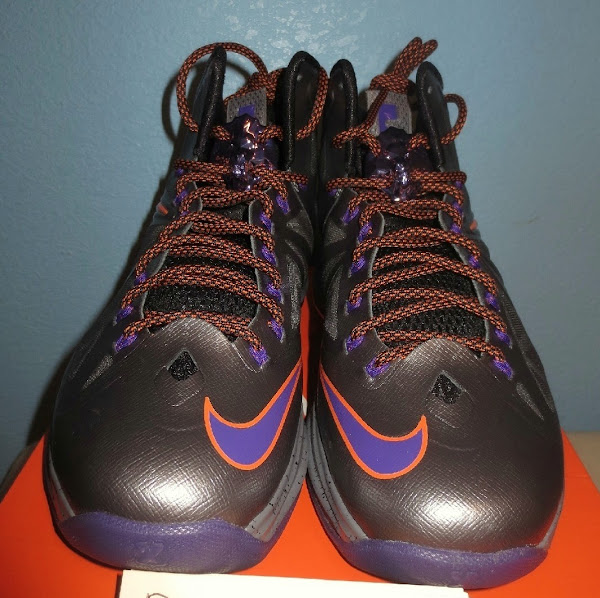 Diana Taurasi8217s Nike LeBron X Phoenix Mercury Away PE