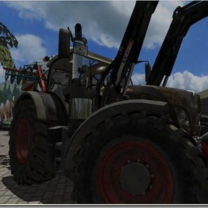 Farming simulator 2011 - Fendt Vario 724 SCR Black Beauty con Cargo 5X90 (trattore)