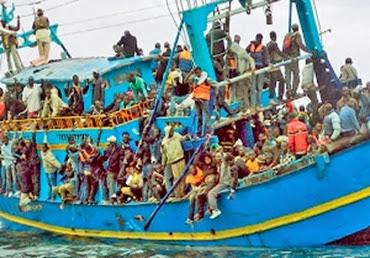 Lampedusa inmigrantes