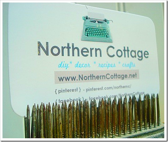 northern cottage business card