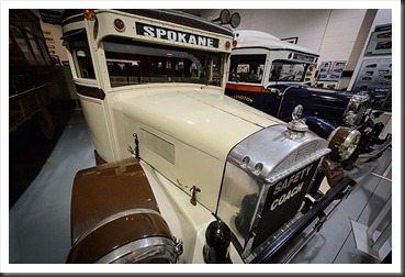 1929 Yellow Coach Model W and 1927 Fageol