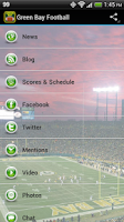 Screenshot of Green Bay Football