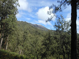 Gunung Welirang seen from the trail down to Tretes (Dan Quinn, June 2013)