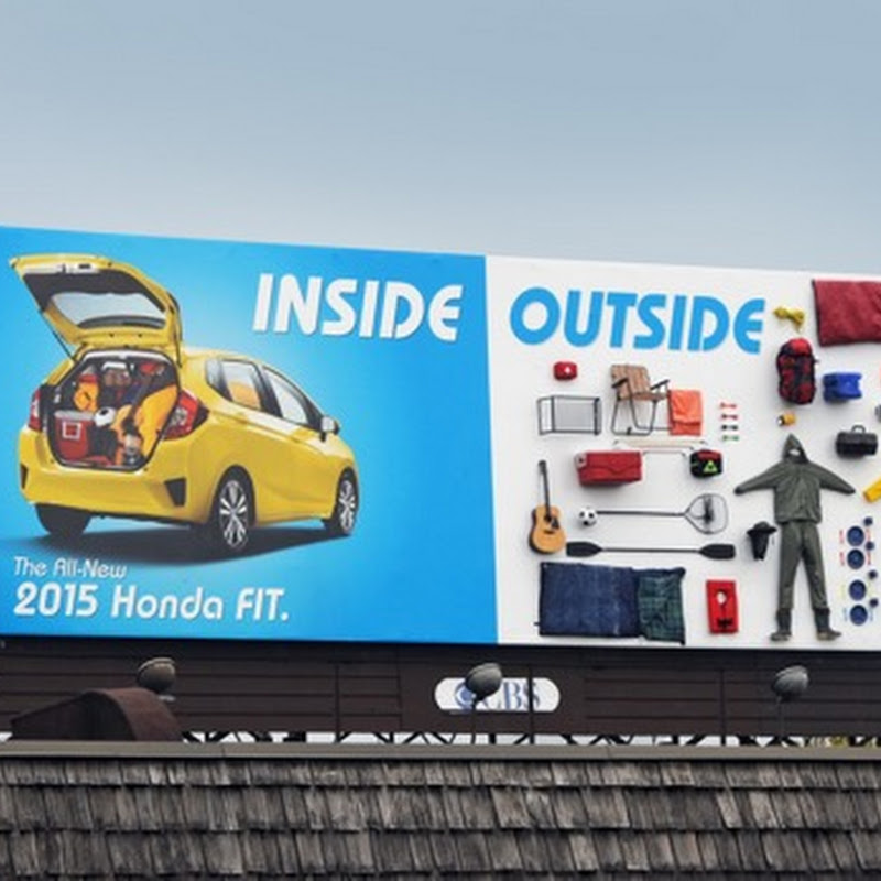Todo le cabe al Honda Fit