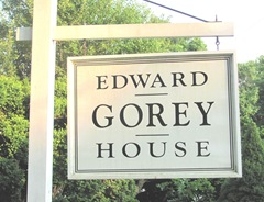 Ed Gorey House sign