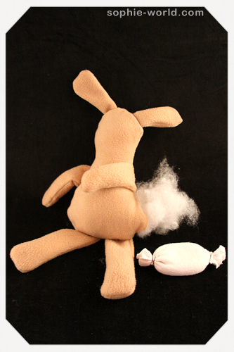 Stuffed bunny 12