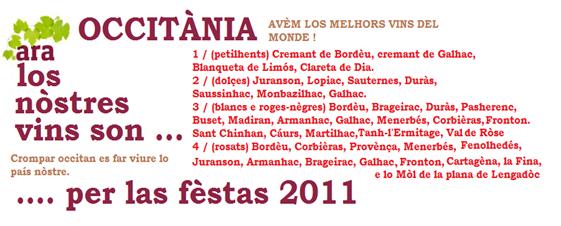 Los vins occitans per las fèstas