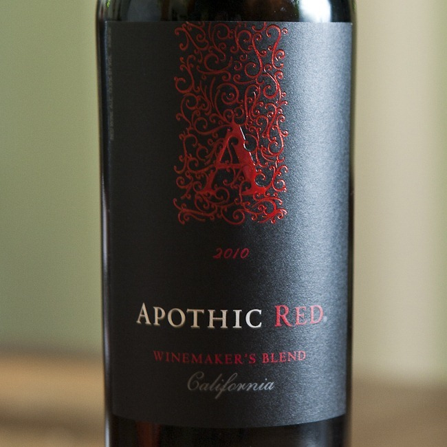 2010 Apothic Red California Winemaker's Blend