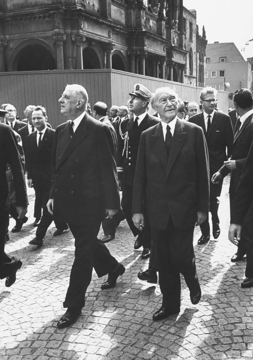 De Gaulle in Deutschland, 1962.