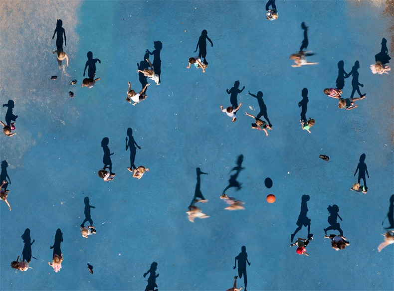 Katrin Korfmanns Aerial Photos Of People