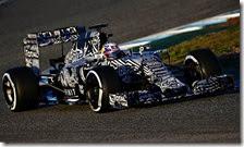 Daniel Ricciardo con la Red Bull RB11