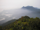 View south from the summit of Gunung Besar (Daniel Quinn, October 2011)