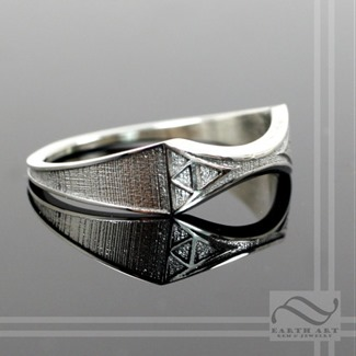 Zelda Wedding Band from Earth Art Jewelry and Gem