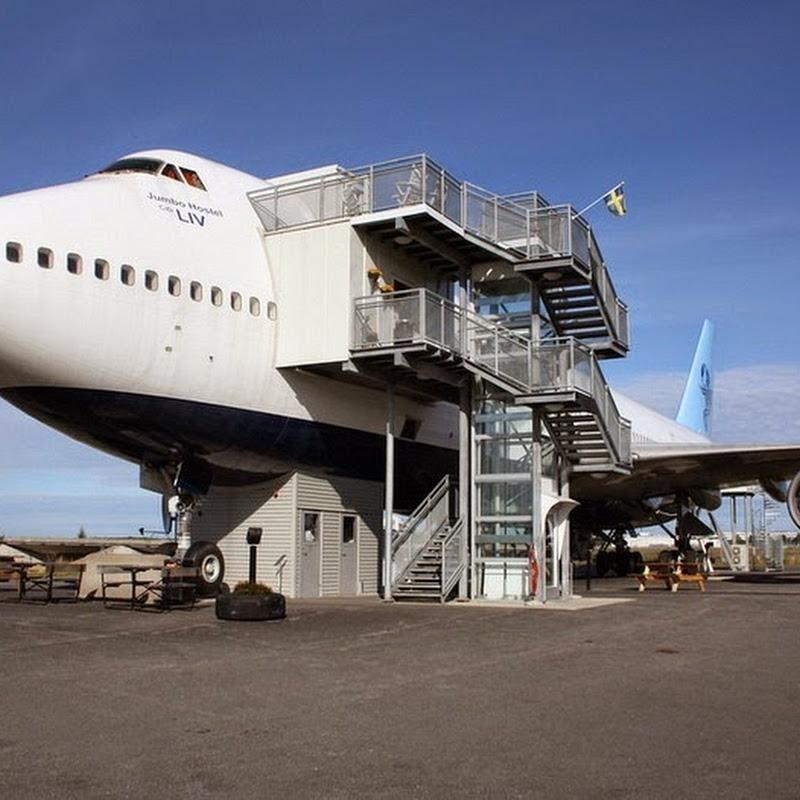 Jumbo Hostel: Stockholm's Airplane Hotel