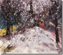 rainer-fetting-schneefall-unter-den-linden