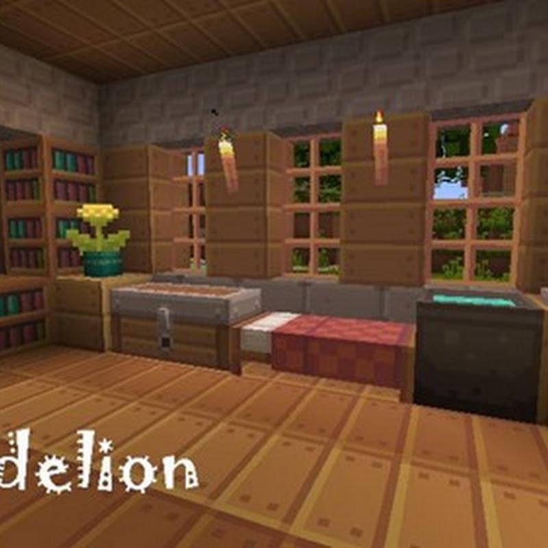 Minecraft 1.5.2 - Dandelion Texture Pack 16x