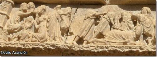 El arresto y el apaleamiento de San Saturnino - Artajona - Navarra