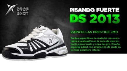 Nueva línea de calzado deportivo Drop Shot 2013: tecnología al servicio del jugador.