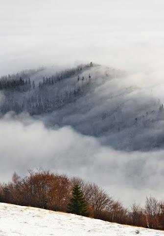 ... hrebeň Volovských vrchov ...