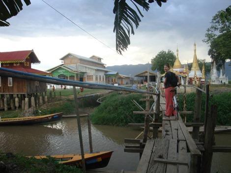 Circus across  Burma