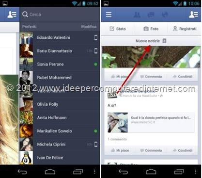 facebook-applicazione-android
