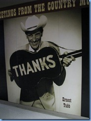 9601 Nashville, Tennessee - Discover Nashville Tour - downtown Nashville - Country Music Hall of Fame and Museum - picture of Ernest Tubb