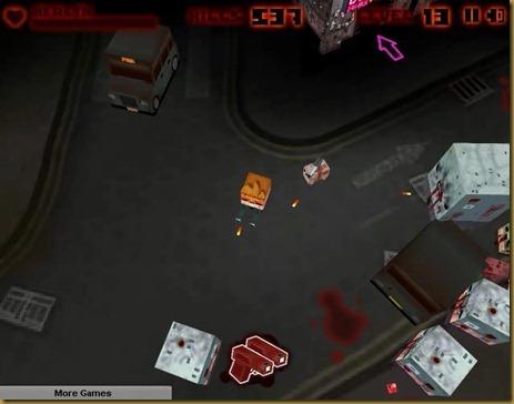 Big Pixel Zombies ゲーム画像