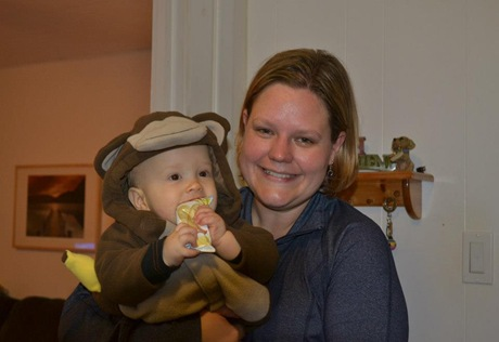 Landyn and Jill Halloween 2012