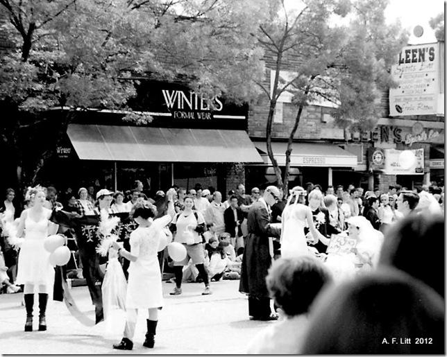 Pride Parade.  Seattle, Washington.  c. 1997.