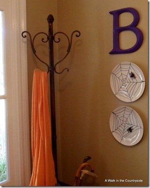 """BOO"" Wall Decor for Halloween @ A Walk in the Countryside"