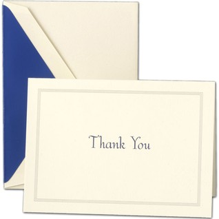 A simple and ideal thank-you card.